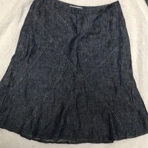 cabi Size 2 Women's Denim Skirt